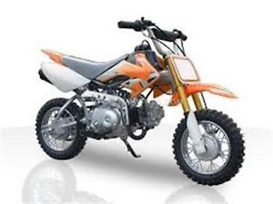 110cc Dirt Bikes on for $699.99! Limited time offer!