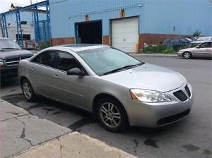 Pontiac g6 2006 $1495 carte de credit accepte 514-793-0833