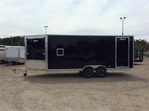 Triton 7x18 XT187 Enclosed Snowmobile Trailer