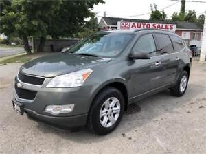 2011 Chevrolet Traverse Accident Free/Auto/7 Passenger/Certified