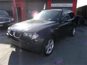 2005 BMW X3I**FINANCEMENT 100% APPROUVER DISPONIBLE**TOUT ÉQUIPÉ
