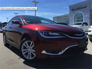 2016 Chrysler 200 Limited 2.4L 9 Speed