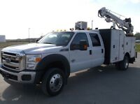 2015 Ford F550 4x4 with Summit 11' mechanic service truck