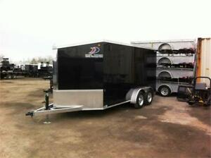 Tandem Axle Galvanized Cargo Trailer - Unbelievable Warranty!