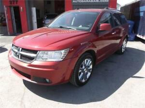 2010 DODGE JOURNEY R/T**46.67$/SEM**AWD(4X4),7 PASSAGERS,DVD