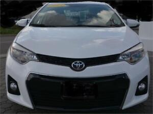 2015 Toyota Corolla S/One Owner/Backup Camera/No Accident