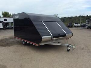 Triton 8x11 TC118 Enclosed Snowmobile Trailer