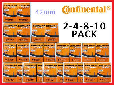 NEW BOX Continental RACE 28 700c x 20-25 42mm Stem Presta Valve Bike Inner Tube Presta Valve Box