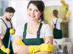 CLEANING WOMAN AVAILABLE/Pickering, Ajax, Whitby