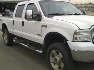 2007 FORD F-350 4WD SUPER DUTY SRW LARIAT DIESEL PICK UP TRUCK