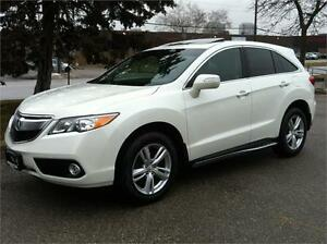 2013 ACURA RDX AWD PREMIUM PKG - CAMERA|PHONE|1 OWNER|WARRANTY