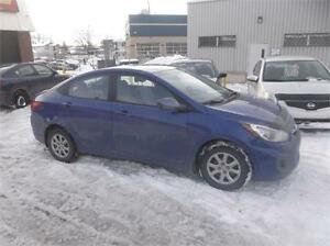 2012 HYUNDAI ACCENT 111000KM, AIR, GR.ELECT $5995