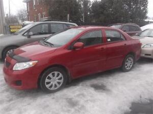 2010 TOYOTA COROLLA, AIR CLIMATISE $4995