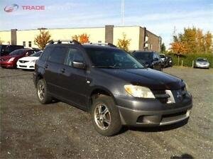 2006 MITSUBISHI OUTLANDER AUTOMATIQUE CLIMATISEE 4 CYLINDRES