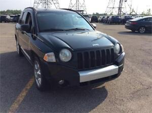 JEEP COMPASS 4 CYL, AIR CLIM   AWD, CRUISE , CUIR, 100%LIMITED**