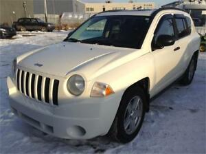 2007 Jeep Compass Sport 4X4 SUV - Accident Free