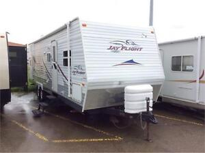 2007 Jay Flight 31BHS Quad Bunk Room with Table