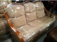 Ex-display Daro cane 3 seater