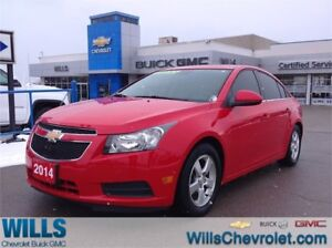 2014 Chevrolet Cruze 2LT | LEATHER | SUNROOF | AUTO