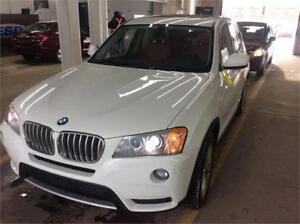 2012 BMW X3 35I/4WD*TRÈS PROPRE* ONE OWNER* $49 SEMAINE