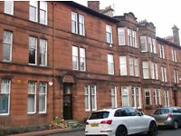 Spacious, 3 bedroom flat, Kirkcaldy Rd, Shawlands would suit a couple plus one or a family