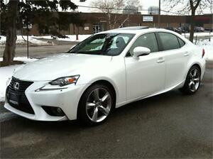 2014 LEXUS IS 350 AWD EXECUTIVE PKG |NAV|CAM|WARRANTY|NO ACCIDEN