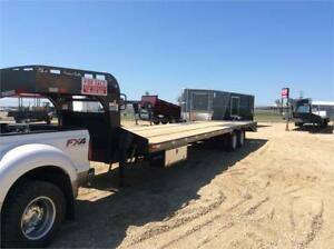 36' Heavy duty Precision Gooseneck Trailer