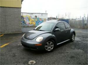 2007 Volkswagen New Beetle Coupe . CUIR . TOIT OUVRANT