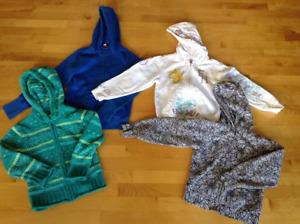 4 vestes pour fille