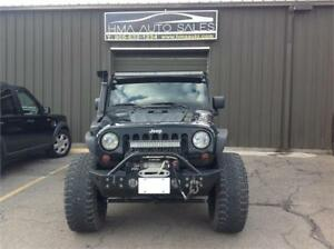 "2010 Jeep Wrangler Lifted 35"" tires"