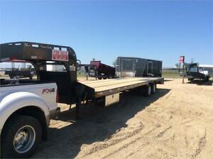 Heavy duty Precision Gooseneck Trailers