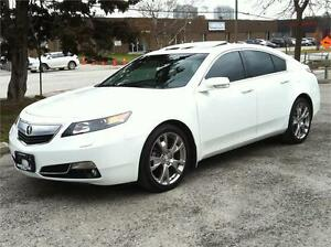 2012 ACURA TL ELITE PKG SH-AWD |NAV|CAMERA|PADDLESHIFT|BLINDSPOT