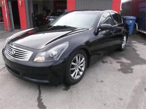 2008 INFINITI G35X**FINANCEMENT 100% APPROUVER**AWD(4X4),CUIR