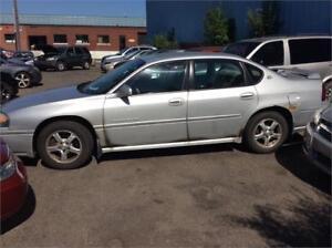 Chevrolet Impala 2004,  170000 km, 950.00$ Alain 514-793-0833