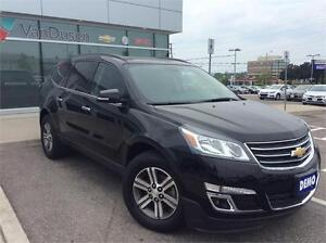 2017 CHEVROLET TRAVERSE 2LT AWD-EXEC DEMO-MSRP WAS $52,155