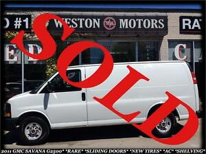 2011 Chevrolet Express G2500 *SIDE SLIDING DOORS *SHELVING
