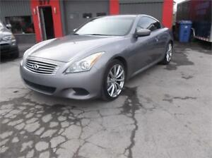 2008 INFINITI G37S**FINANCEMENT 100% APPROUVER DISPONIBLE**CUIR