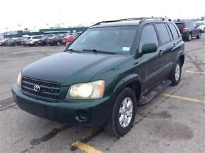 TOYOTA HIGHLANDER , MAGS, CUIR, LONG CONSOLE 3699$