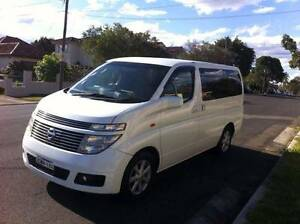 Great Condition - 2002 Nissan Elgrand Wagon Lidcombe Auburn Area Preview