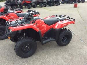 2020 Honda TRX 420 FM - ATV with 4X4 - $7699 Limited available