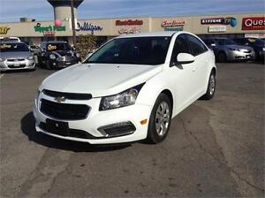 2015 Chevrolet Cruze LT-AUTOMATIC-REAR CAM-ONLY 62KM
