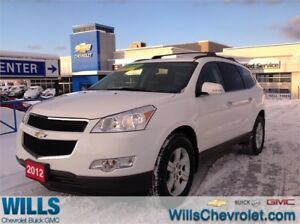2012 Chevrolet Traverse 1LT | AWD | BLUETOOTH | 8 PASSENEGER
