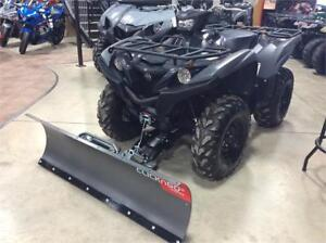 2018 Yamaha Grizzly EPS with Plow Kit