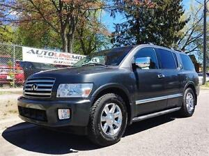 2004 INFINITI QX56 LEATHER LOADED LOW MILEAGE & 3RD ROW