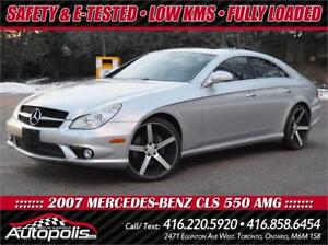 2007 Mercedes-Benz CLS 550 AMG * LOW KMS * 2 Year Free Warranty