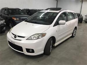 2007 Mazda 5 GT Automatique 101,000km CUIR / TOIT OUV / MAGS