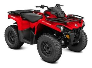 BIG REBATES ON YOUR NEW OUTLANDER 450, DON'T MISS YOUR SAVINGS