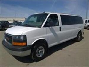 Coming to market 15 passenger van 2015 loaded