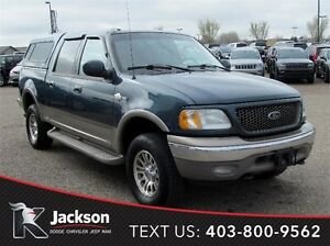2002 Ford F-150 King Ranch 4WD - Heated Leather, Sunroof