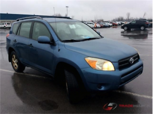 2006 TOYOTA RAV4 AUTOMATIQUE CLIMATISEE 4CYLINDRES PROPRE